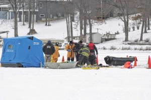David Allen Hartke Ice Fisherman Found