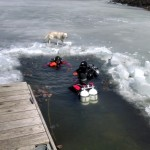 Ice Diving in Lake Wazee